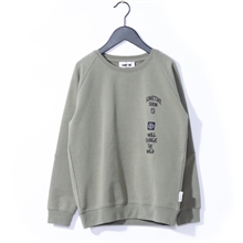 Sometime Soon Merlin Sweatshirt Olive