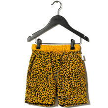 Sometime Soon Delano Shorts Yellow