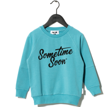 Sometime Soon Sometime Sweat Light Blue
