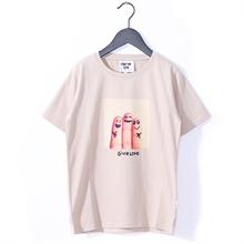 Sometime Soon Eugene T-Shirt Beige