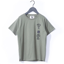 Sometime Soon Merlin River T-Shirt Olive
