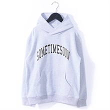 Sometime Soon Ocean Sweatshirt Grey Melange