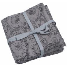 Soft Gallery Owl Muslin Cloths (drizzle)