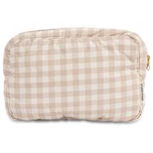 Studio Feder Toiletry Bag Gingham Oat