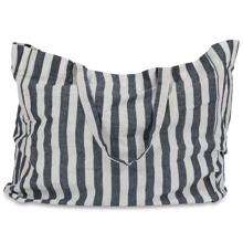 Studio Feder Tote Bag Large Wide Stripe Navy