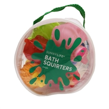 SunnyLife Bath Squirters Jungle Set of 6
