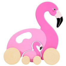 SunnyLife Push & Pull Toy Flamingo