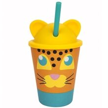 SunnyLife Eco Kids Sippy Tumbler Leopard