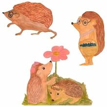 That's Mine Wall Stories Hedgehog Family