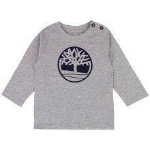 Timberland Chine Grey Long Sleeve T-Shirt
