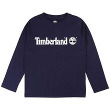 Timberland Navy Long Sleeve T-Shirt