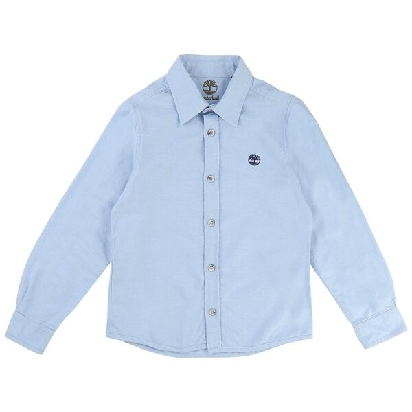 Timberland Pale Blue Long Sleeve Shirt