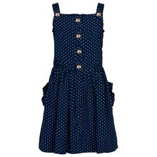 tn2791-orabella-ss-dress-black-iris-navy-with-dots-med-hvide-prikker-front-knapper