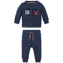 Tommy Hilfiger Baby Flag Tracksuit Twilight Navy