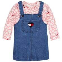 Tommy Hilfiger Baby Girl Overalls Set