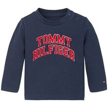 Tommy Hilfiger Baby Flag Blouse Twilight Navy
