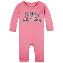 Tommy Hilfiger Baby Raglan Coverall Rosey Pink