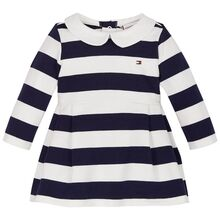 Tommy Hilfiger Baby Rugby Stripe Dress Twilight Navy/White