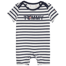 Tommy Hilfiger Baby Boy Shortall 3-pack Giftbox Black Iris/Bright White