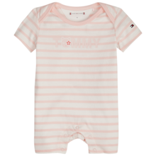 Tommy Hilfiger Baby Girl Shortall 3-pack Giftbox Strawberry Cream