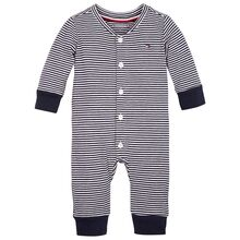 Tommy Hilfiger Baby Stripe Flag Coverall Twilight Navy/White