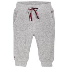 Tommy Hilfiger Baby Velours Sweatpants Grey Heather