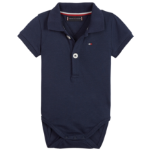 Tommy Hilfiger Baby Boy Body Polo Giftbox Black Iris