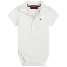 Tommy Hilfiger Baby Boy Body Polo Giftbox Bright White