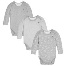 Tommy Hilfiger Baby Boy Body 3-pack Giftbox Multi/Grey Heather