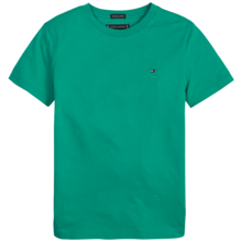 Tommy Hilfiger Boy Essential Original Cotton Tee S/S Dynasty Green