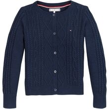 Tommy Hilfiger Cable Cardigan Twilight Navy