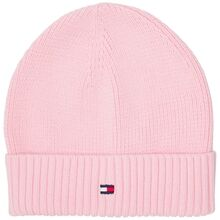 Tommy Hilfiger Flag Knit Beanie Romantic Pink