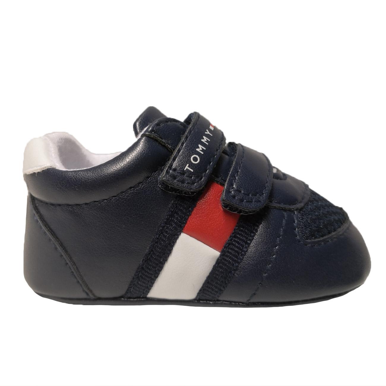 Tommy Hilfiger Lace-Up Shoe Blue/Bianco