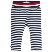 Tommy Hilfiger Baby Stripe Leggings Black Iris/Bright White