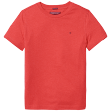Tommy Hilfiger Boy Basic CN Tee SS Apple Red Heather