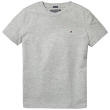 Tommy Hilfiger Boy Basic CN Tee SS Grey