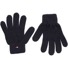 Tommy Hilfiger Flag Knit Gloves Sky Captain