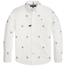 TommyHilfiger-clipping-stripe-shirt-KB0KB03886