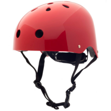 Trybike CoConut Ruby Red Helmet Retro Look