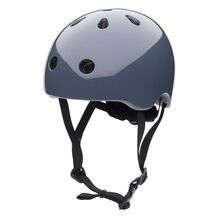 Trybike CoConut Graphite Grey Helmet Retro Look