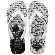 Havaianas Kids Star Wars Flip Flops White