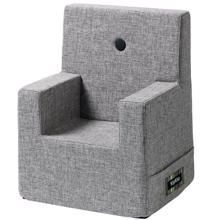 KK Kids Chair XL Multi Grey w. Grey Buttons