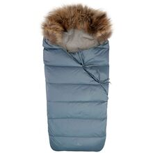 Ver de Terre Featherlight Babybag w. Fur Polar Blue