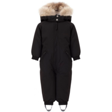 Ver de Terre Wintersuit w. Fur Black
