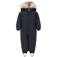 Ver de Terre Wintersuit w. Fur Navy