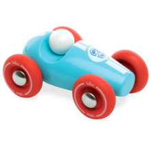 Vilac Mini Race Car Light Blue