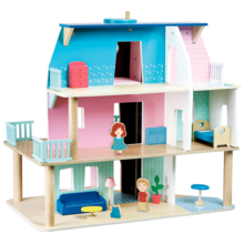 Vilac Doll House incl. Furnitures and Dolls