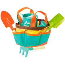 Vilac Bag with Water Jug and Garden Tools