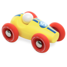 Vilac Mini Racecar Yellow