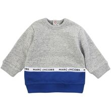 Little Marc Jacobs Baby Boy Chine Grey Sweatshirt